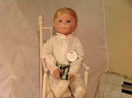 Nell Doll by Martha Chase with Perfect Size Highchair for Nell 15 Inches Tall image 2