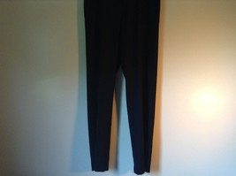 Navy Blue Kenneth Cole Reaction Pleated Dress Pants  Size 32 by 34 image 2