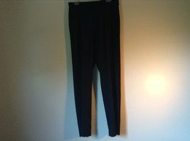 Navy Blue Kenneth Cole Reaction Pleated Dress Pants  Size 32 by 34 image 3