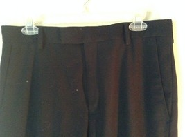 Navy Blue Kenneth Cole Reaction Pleated Dress Pants  Size 32 by 34 image 4