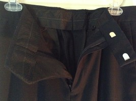 Navy Blue Kenneth Cole Reaction Pleated Dress Pants  Size 32 by 34 image 5