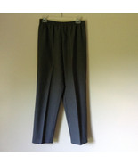Monterey Canyon Petite Gray Stretchy Waist Pants 100 Percent Polyester S... - $39.99