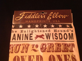 New Kitchen Towel by Fiddlers Elbow The Enlightened Hounds Canine Wisdom No 3 image 3