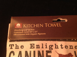 New Kitchen Towel by Fiddlers Elbow The Enlightened Hounds Canine Wisdom No 3 image 5