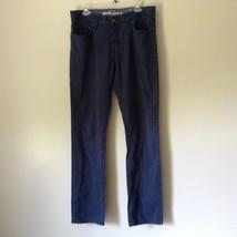 Mossimo Supply Company Blue Pants 100 Percent Cotton Size W34 x L34 image 1