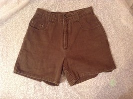Moss Brown Casual Shorts Size 9 to 10 100 Percent Cotton Five Pockets