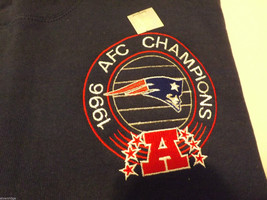 New England Patriots Pro Player 1996 AFC Champions Pullover Sweatshirt Size XL image 3