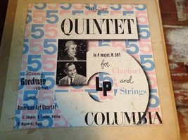 Mozart Quintet in A Major K 581 for Clarinet and Strings Columbia Records