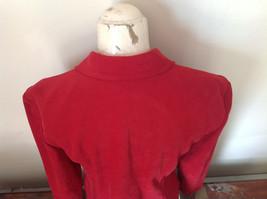 Amanda Smith Short Red Zipper Dress Jacket Perfect Condition Size 6 image 5