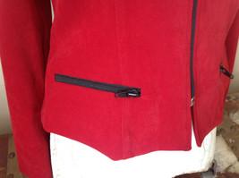 Amanda Smith Short Red Zipper Dress Jacket Perfect Condition Size 6 image 6