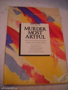 Murder Mystery Jigsaw puzzle and book