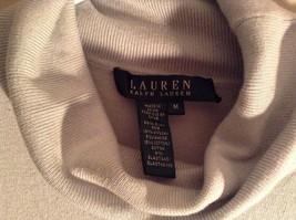 Light Blue Long Sleeve Ralph Lauren Turtleneck Shirt Size Medium image 4