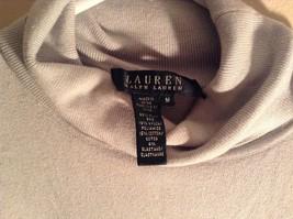 Light Blue Long Sleeve Ralph Lauren Turtleneck Shirt Size Medium image 5