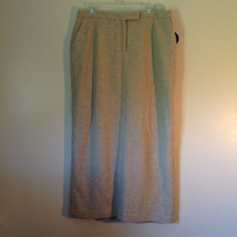 NEW Valerie by Valerie Stevens Beige Light Brown Pattern Maxi Skirt Size 16