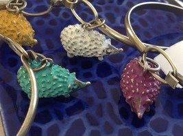 NEW bangle bracelet w Hedgehog Charm choice of color USA made