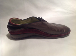 Naot Brown Green Inside Shoes Size 38 Eu Made In Israel Good Condition