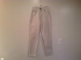 Natural White 100 Percent Cotton FRESNO Jeans Size 8 Average High Waist