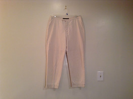 Natural White 100 Percent Cotton Size 30 Capri Pants For All Curious Americans