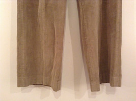 Light Brown 100 Percent Cotton L L Bean Pleated Front Casual Pants Size 34 image 4