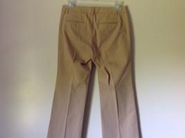 Light Brown Casual Pants by GAP Size 00 Regular Front Back Pockets Belt Loops image 5