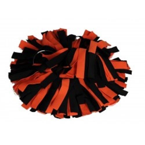 Pomchie black and orange ponytail tie / wrist band hair accessory Boo Boo Kitty