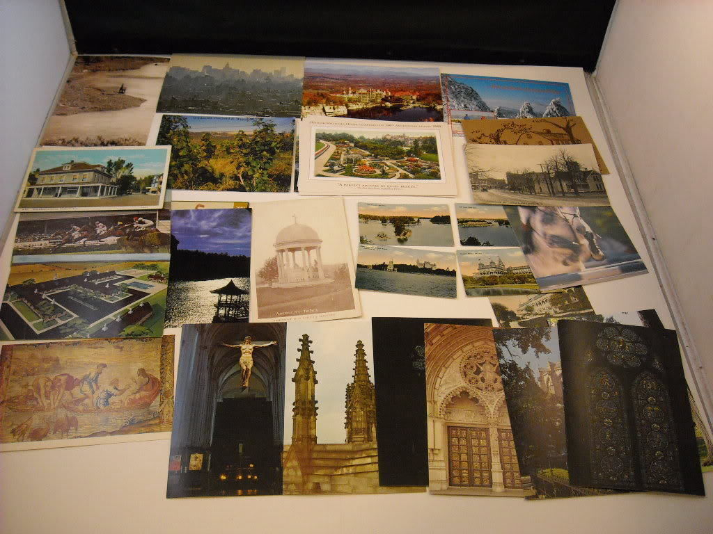 Postcards lot New York Mohonk Mountain Saratoga vintage