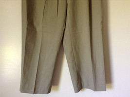 Light Brown Dress Pants by Chaps Ralph Lauren 100 Percent Wool Size 34 image 4