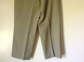 Light Brown Dress Pants by Chaps Ralph Lauren 100 Percent Wool Size 34 image 6