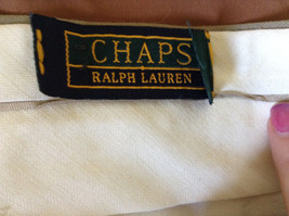 Light Brown Dress Pants by Chaps Ralph Lauren 100 Percent Wool Size 34 image 7