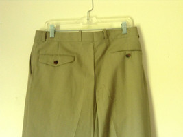 Light Brown Dress Pants by Chaps Ralph Lauren 100 Percent Wool Size 34 image 5