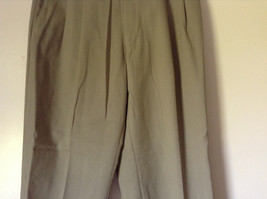 Light Brown Dress Pants by Chaps Ralph Lauren 100 Percent Wool Size 34 image 3