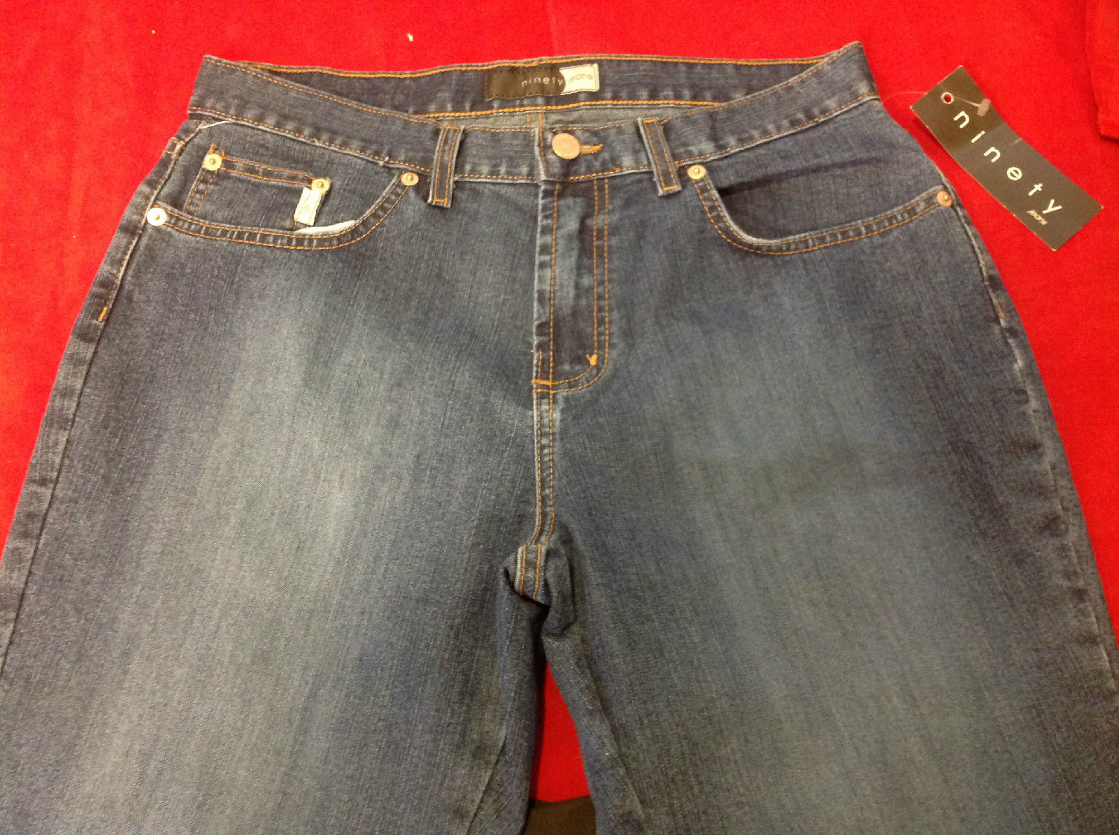 New Ninety Jeans Ladies Denim Jeans 32 inch waist.  Inseam 31.