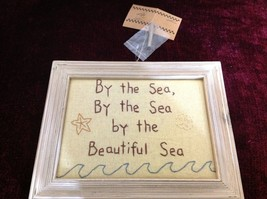 New Primitives Stitchery By the Sea By the Sea By the Beautiful Sea Wall Hanging image 2