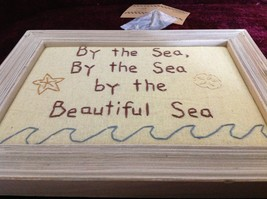New Primitives Stitchery By the Sea By the Sea By the Beautiful Sea Wall Hanging image 3