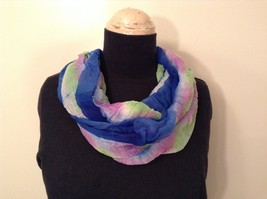 New Tie Dye Infinity Lightweight Spring Scarf in Color Choice