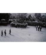 ORIGINAL WW2 GERMAN PHOTO: A.H. INSPECTS HEER TROOPS! - $18.00