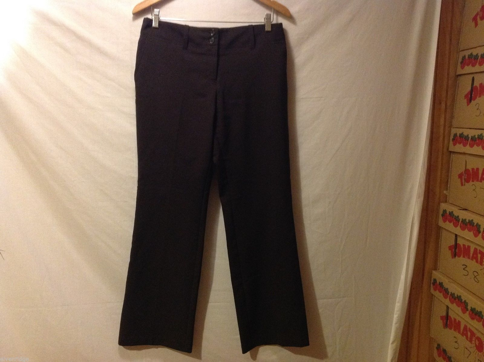 New York & Co. Womans Black Dress Pants, Size 8P