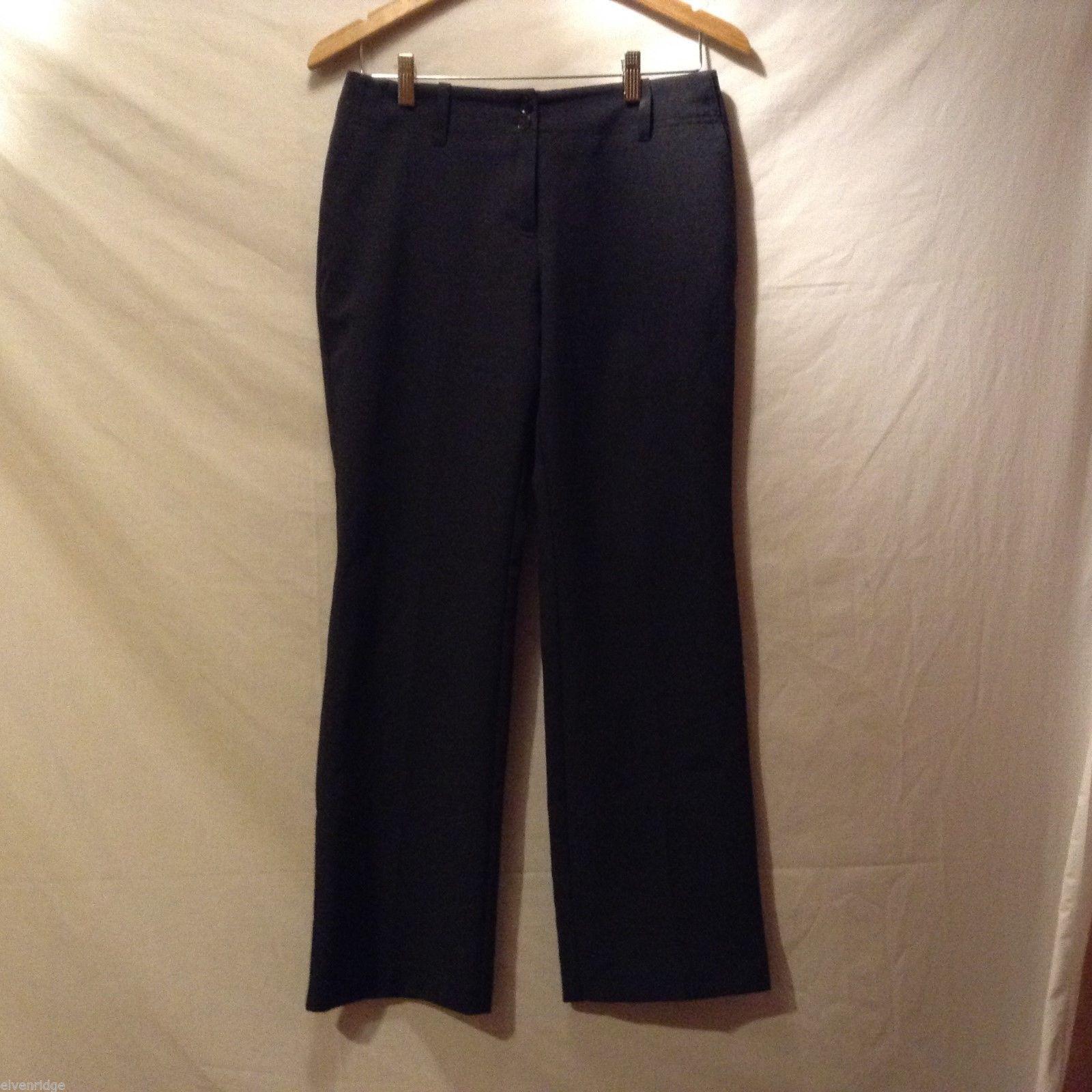 New York & Co. Womans Dark Gray Dress Pants, Size 8P