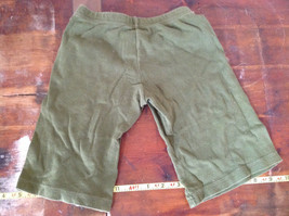 American Apparel Cute Infant Green Elastic Waist Pants Size 12 to 18 Months image 5