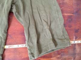 American Apparel Cute Infant Green Elastic Waist Pants Size 12 to 18 Months image 4