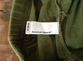 American Apparel Cute Infant Green Elastic Waist Pants Size 12 to 18 Months image 6