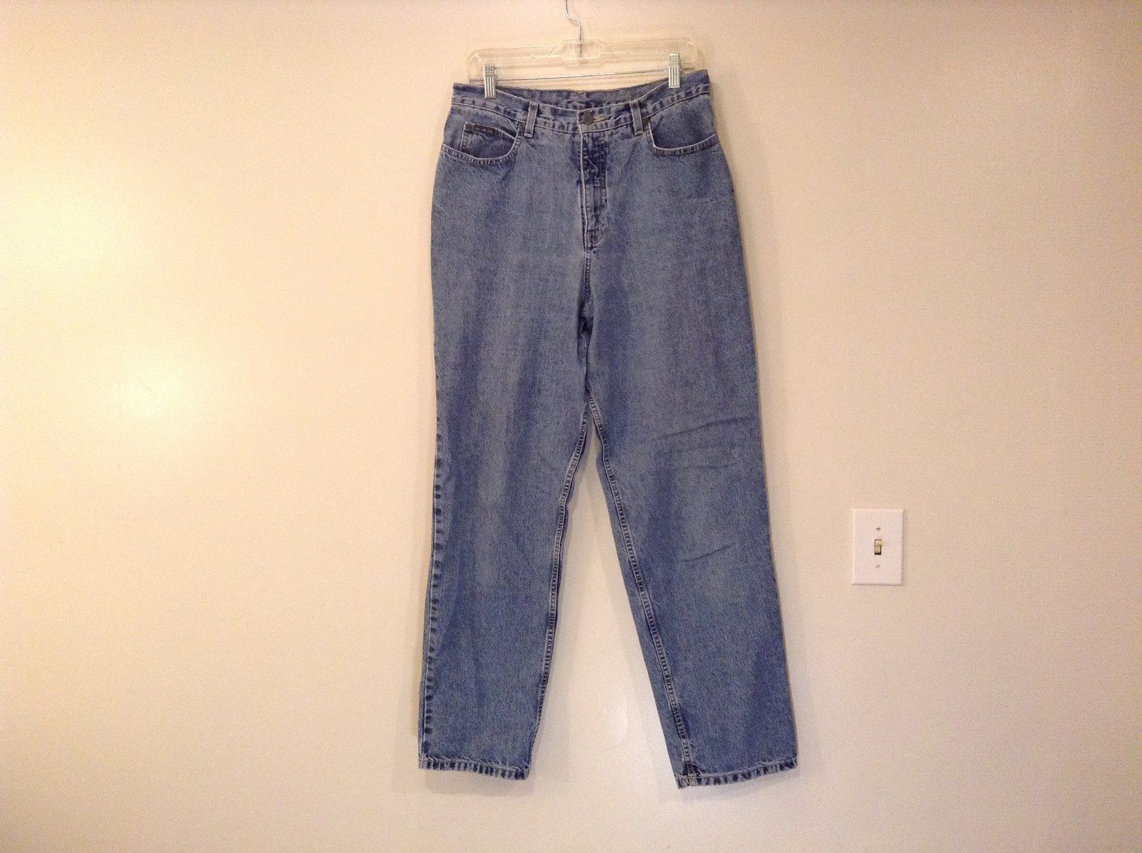 New York and Company Blue Denim Jeans 100 Percent Cotton Size 12 Tall