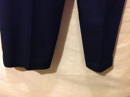 Alfred Dunner Womans Navy Blue Pants, Size 16 image 3