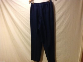 Alfred Dunner Womans Navy Blue Pants, Size 16 image 2