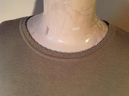 Light Green Short Sleeve Susan Graver Soft Stretchy Top Size Large image 2