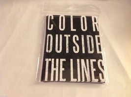 New in package note cards Color outside Lines Peace Love East Street Live Large