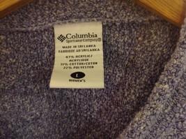 Light Magenta Columbia Long Sleeved Sweater Women Size L image 2