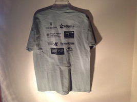 Light Green Jerzees Short Sleeve Graphic T-Shirt Sponsor USMA 5K 10K Size Large image 6