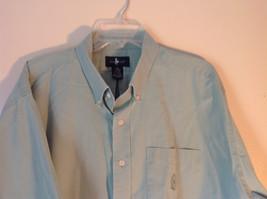 Light Green Button Down Short Sleeve Casual Shirt Hunt Club Collar Size XXL image 2