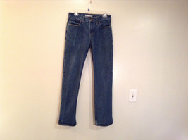 Nice Route 66 Dark Blue 100 Percent Cotton Jeans Slim Straight Size 30 by 32